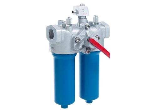 Filtro doble / filtro de tubería conmutable