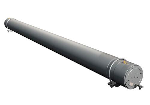 Acumulador hidráulico a pistón