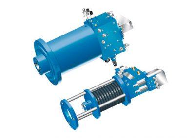 Accionamiento regulador hidráulico CGE