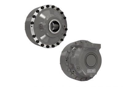 Motores de pistones radiales Hägglunds CAb