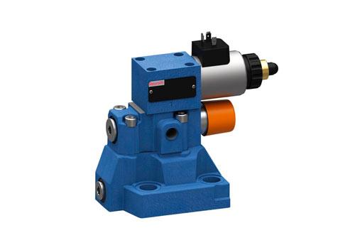 Válvula proporcional limitadora de presión, precomandada DBEM