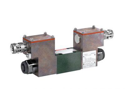 Válvula proporcional reductora de presión, accionamiento directo 3DREP…XE
