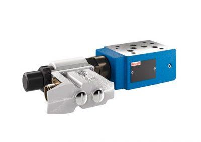 Válvula proporcional reductora de presión, precomandada Z3DRE 10, Z3DREE 10