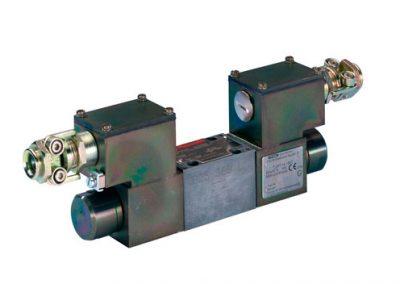 Válvula proporcional direccional de accionamiento directo 4WRA-XE