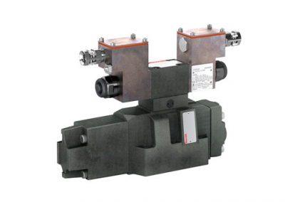 Válvulas proporcionales direccionales, precomandadas, XE