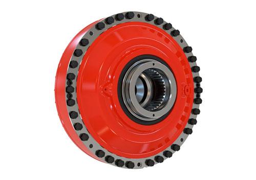 Motores de pistones radiales Hägglunds CB