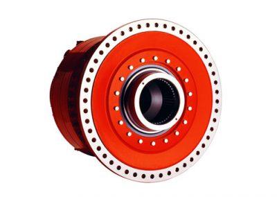 Motores de pistones radiales Hägglunds CBP