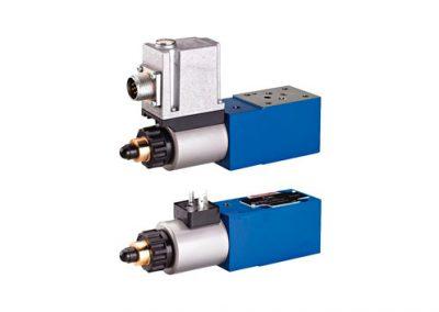 Válvula proporcional limitadora de presión, precomandada-Z_DBE6-Z_DBEE6
